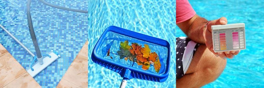 Zwembadreiniging - handbediend