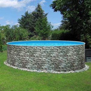 Azuro Stone opbouw zwembad