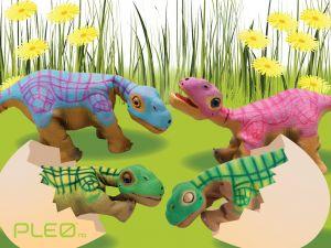 Pleo rb Dinosauris robot - Family Pack