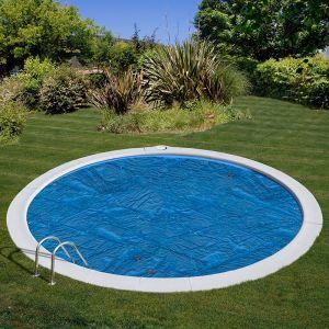 Solar cover inbouw zwembaden - rond