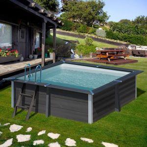 Gre Avantgarde zwembad vierkant - 326x326x96