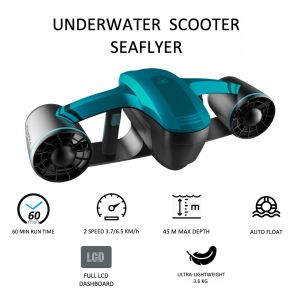 Onderwater Scooter Seaflyer 1.0 Blauw RoboSea 64116121