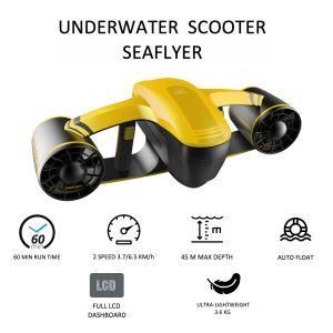 Onderwater Scooter Seaflyer 1.0 Geel RoboSea 64116015